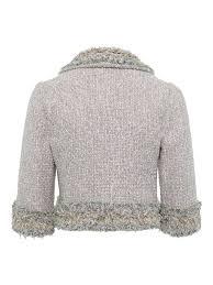 Chanel Fringed Tweed Jacket Set
