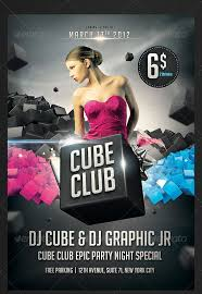 Club Flyer Templates Free Club Flyer Templates Photoshop Cti Advertising