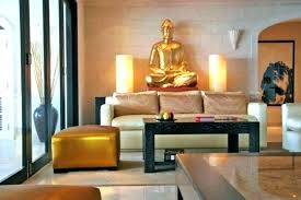 Zen Living Room Ideas Elegant With Gold Statue Decor Type Small Livi Magnificent Zen Living Room Ideas