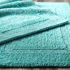dark aqua bath rugs everything turquoise reversible cotton rug