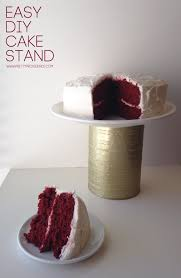 29 chic and easy to do diy cake stand