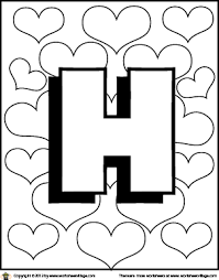 Small Picture Letter H Coloring Pages Printable Get Coloring Pages