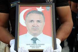Hakkari Emniyet Müdür Yardımcısı Cevher, polis memurunun saldırısında şehit  oldu - Yurt haberleri