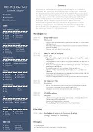 resume ux designer ux designer resume samples and templates visualcv