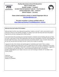 Fillable Back To School Pta Newsletter Edit Online Print