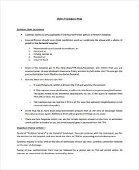 Procedure Note Template Procedure Note Templates 6 Free Word Pdf Format Download