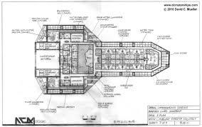 Ship Deck PlansSpaceship Floor Plan