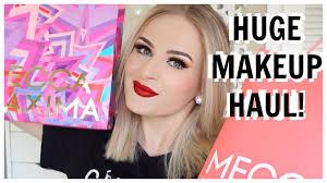 huge makeup haul mecca maxima nz goo bag review