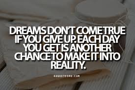 Dreams Fulfilled Quotes Best of It's All About Quotes Just Believe
