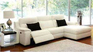leather sofa bed chaise 3 powered leather recliner lounge with chaise  recliner lounges living room furniture