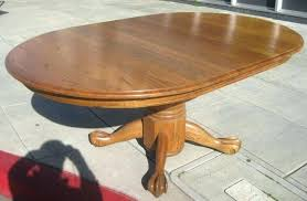 antique oak pedestal table furniture dining extending with claw feet round oval coffee ant antique round table