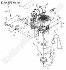 2015 outlaw outlaw extreme engine kohler 824cc efi diagram if you are not able to the bad boy parts for your 2015 outlaw outlaw extreme please contact us using our bad boy parts live chat or toll at