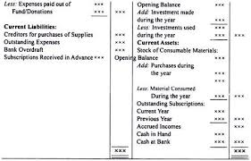 sample balance sheet for non profit non profit financial statement template free