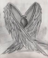 Angel Sketch Broken Angel Drawing Pic Gallery Broken Angel Drawing Pic
