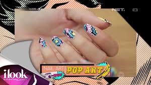 iLook - Nail Art - Pop Art - YouTube