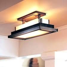 kitchen lighting fixture. Interesting Fixture Kitchen Fluorescent Lighting Fixtures Nickel Overhead Light  Fixture Loading Zoom Ceiling  Throughout Kitchen Lighting Fixture G