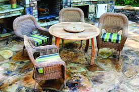 The sea pines 5 piece dining set with jakarta teak dining table tortuga outdoor