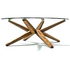 round glass coffee table metal base wood cool top must see with canada
