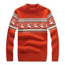 New Mens Ugly Christmas Sweater Multicolor Fashion Wool Cowl Neck For Men Sweaters Pull Homme 5 Colors BF7721