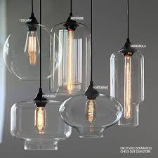 tuscany round glass pendant light