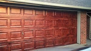 painting aluminum garage door luxury painting a metal garage door to look like wood uusf net