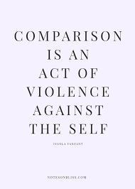 Beauty Comparison Quotes Best of Quotes About Comparison You Are Unique Face Beauty