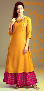 Pakistani Silk Kurtis Designs Pin By Hema Chokshi On Kurti And Salvar Kameez Kurta