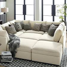 Z Gallerie Living Room Extraordinary Imposing Stunning Pit Sectional Sofa Upholstered Living Room