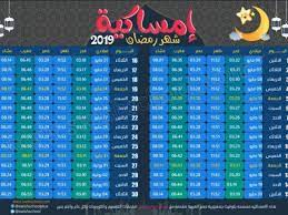 اوقات اذان الفجر رمضان 2021