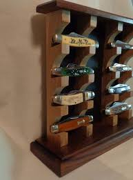 Knife Display Stands Amazing 32 DIY Display Cases Ideas Which Makes Your Stuff More Presentable