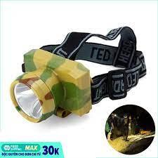 Đèn pin thợ mỏ đeo đầu siêu sáng - Đèn pin đeo trán giá rẻ, đèn pin đeo  trán hà nội - Đèn Pin Led Siêu Sáng Đội Đầu 3 Bóng- Đèn