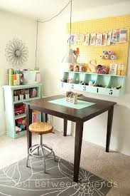 Small spaces craft room storage ideas Pegboard Just Between Small Craft Room Ideas Look Decorative Lamp Friend Frame Cushion Seat Storage Craftaholics Anonymous Drinkbaarcom Small Room Design Awesome Small Craft Room Ideas Craft Room Designs