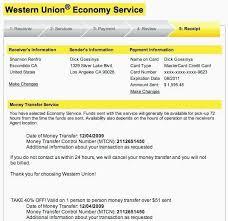 Ideas Mrstefanik Robertmarvin - 20 Union Western info Template Practical Receipt
