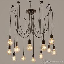 modern vintage lights chandelier pendant lighting holder group edison diy lighting lamps lanterns accessories messenger wire pulley pendant light cool