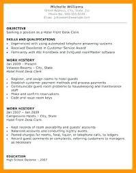 Sample Help Desk Supervisor Resume Front Office Supervisor Resume Samples Desk Sample Hotel For