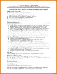 Event Management Job Description Resume Events Planner Resume Wonderful Event Coordinator Fresh Sample 90