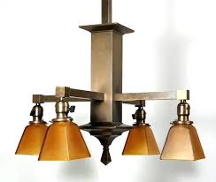 antique arts and crafts ceiling light fixtures amazing four chandelier in brass early for vintage antique arts and crafts