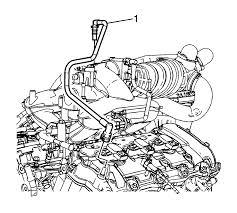 Crankcase ventilation hoses pipes 2008 vue 3 6l pcv valve intake