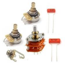 guitar wiring diagrams resources guitarelectronics com 5 way rotary switch guitar electronics kit w cts pro pots 500k
