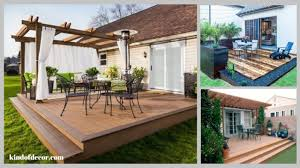 patio deck decorating ideas. 35 DIY Patio Deck Decoration Ideas On A Budget Patio Deck Decorating Ideas D
