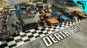 PUBG: <b>DEATH RACE</b> (Battlegrounds Racing Gameplay Highlights ...