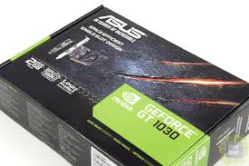 Обзор <b>видеокарты ASUS GeForce GT</b> 1030 (GT1030-2G-BRK)