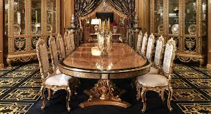 italian marquetry dining table  luxury dining furniture exquisite boulle marquetry work