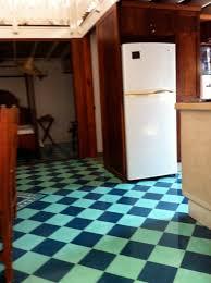 Checkerboard Flooring Kitchen Checkerboard Kitchen Floor Buslineus