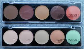 make up forever 5 camouflage cream palette thoughts peace love and glitterpeace love and glitter
