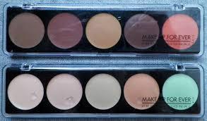make up forever 5 camouflage cream palette thoughts peace love and glitterpeace love and glitter