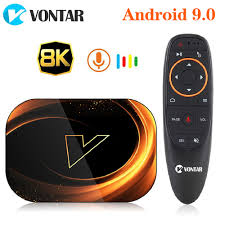 2020 VONTAR X3 4GB 128GB 8K TIVI BOX Android Thông Minh 9 ANDROID TVBOX 9.0  Amlogic S905X3 Wifi 1080P 4K Set Top Box 4GB 64GB 32GB 