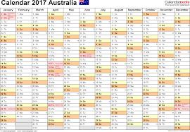 template 2 2017 calendar australia for pdf months horizontally 1 page landscape