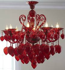 horchow lighting chandeliers. New Horchow Red Murano Style Glass Chandelier 8 Light Hollywood Glamour Style\u2026 Lighting Chandeliers O