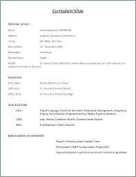 Modern Resume Templates Free Download Pdf Free Cv Template Pdf Smartventures Co